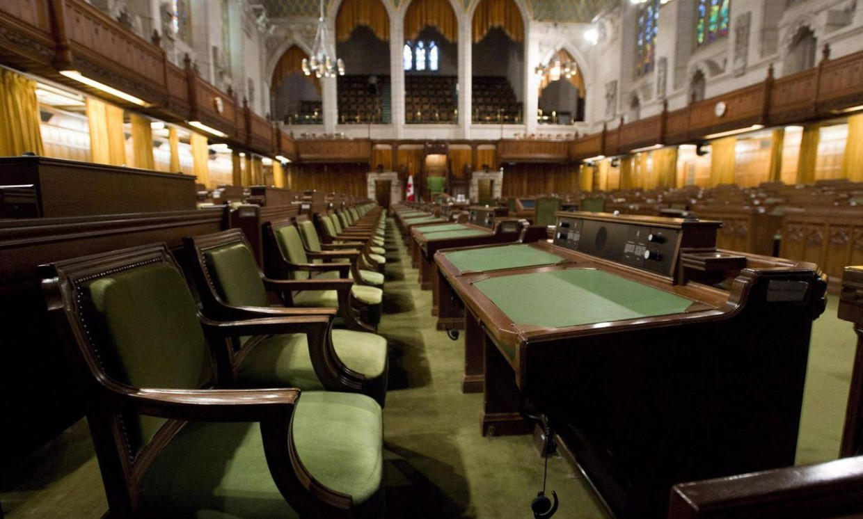 Empty house of commons